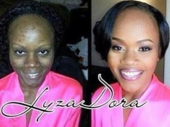 Makeup Can Turn You Into A Completely Different Person (15 Photos)