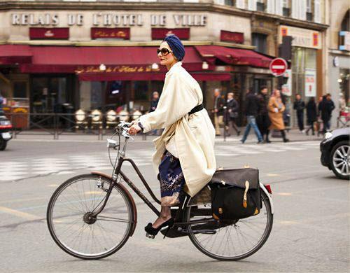 ชุดแฟชั่นขี่จักรยาน เสื้อคลุม Oversize