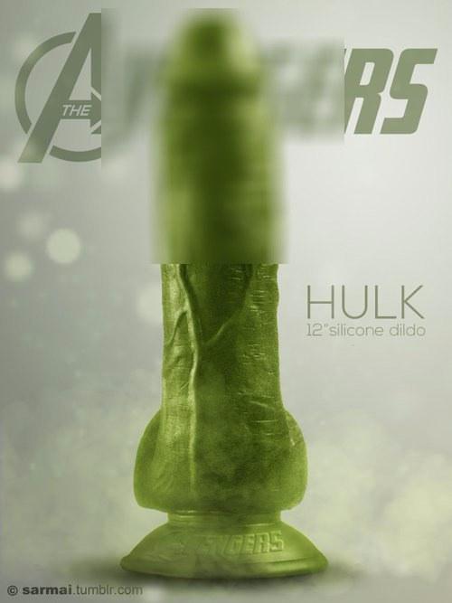 """รูป Hulk 12"""" silicone dildo.jpg"""