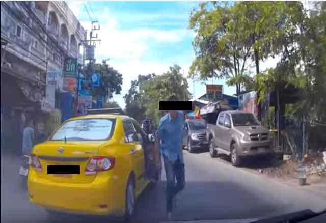เตือนภัย!! อย่าบีบแตรใส่รถแท็กซี่ (มีคลิป) #เรื่องเด่นโซเชียล